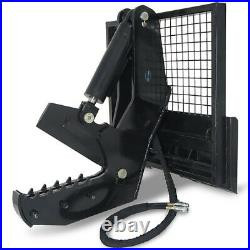 12 Rotating Tree Shear Attachment 5 Cylinder Skid Steer for Tractor Loaders