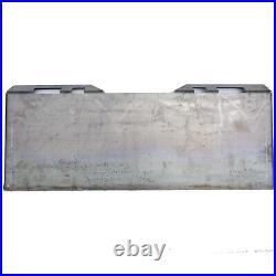 1/2 Skid Steer Mount Plate Loader Quick Attachment Adapter For Bobcat & Kubota