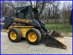 2000 New Holland LS160 Skid Steer