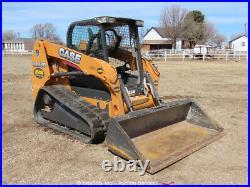 2013 Case TR320 Skid Steer Track Loader Crawler Tractor Aux Hyd Diesel bidadoo