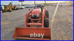 2017 Kubota L6060 4X4 TRACTOR LOADER 62HP SKID STEER QUICK ATTCHMENT Used