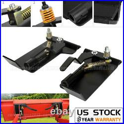 2X Skid Steer Loader Plate Latch Box Quick Attachment Conversion Adapter Weld On