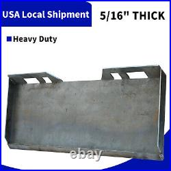 5/16 Mount Plate Skid Steer Loader Attachment for Bobcat Tractor Heavy Duty