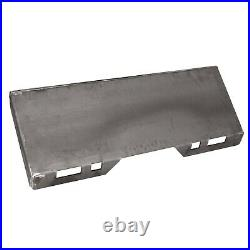 5/16 thick Skid Steer Mount Plate Adapter Loader Quick Tach Attachment