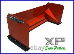 6' XP30 KUBOTA ORANGE SNOW PUSHER Skid Steer Loader LOCAL PICKUP