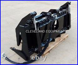 72 SEVERE-DUTY ROOT GRAPPLE RAKE ATTACHMENT New Holland Case Skid-Steer Loader