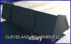 78 BULK MATERIAL BUCKET Mulch Topsoil Skid-Steer Loader Attachment 1 CUBIC YARD