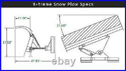 7', 84 SNOWPLOW SKID STEER LOADER, bobcat, case & Tractors John deere, kubota, kioti