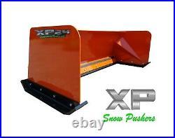 7' XP24 KUBOTA ORANGE SNOW PUSHER Skid Steer Loader LOCAL PICK UP