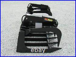 80 Heavy Duty Root Rake Grapple Bucket Attachment Fits Skid Steer Loader