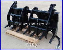84 SEVERE-DUTY ROOT GRAPPLE RAKE ATTACHMENT New Holland Case Skid-Steer Loader