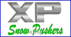 8' XP24 BLACK SNOW PUSHER Skid Steer Loader FREE SHIPPING