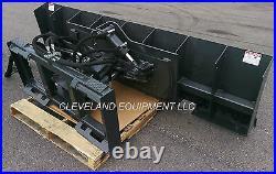 96 HD 6-WAY DOZER BLADE ATTACHMENT Skid-Steer Track Loader Angle Tilt Bobcat 8