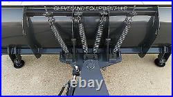 96 HD SNOW PLOW ATTACHMENT Skid-Steer Loader Angle Blade Mustang New Holland 8