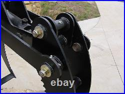 Contractor Log Grapple Hydraulic Claw tractors, front end loaders, skid steers