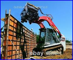 DANUSER S75 MEGA MIXER ATTACHMENT Skid Steer Loader Cement Concrete Scoop & Mix