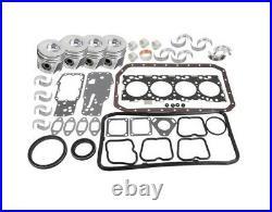 Engine Overhaul Kit for Iveco N45 Fits Case 445 Skid Steer Loader