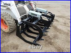 Es 66 Grapple- New, Skid Steer Quick Attach Tractor Loader Local Pick Up