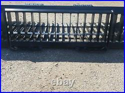 Es New 66 Rock Bucket Skids Steer Quick Attach Loader Tractor Free Shipping