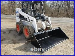 Es New 72 Smooth Bucket Skid Steer Quick Attach Tractor Loader Local Pick Up