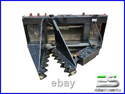 Es Tree / Post Puller Skid Steer Quick Attach Tractor Loader Local Pickup