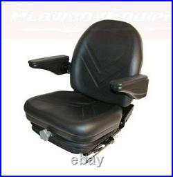 HIS360 Industrial Seat w Suspension FORK LIFT SKID LOADER Case IH John Deere