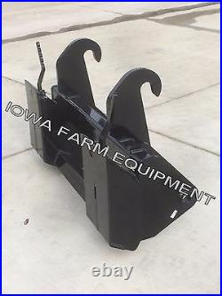 JCB 210,212,214,3CX, 4CX Tractor Loader Backhoe Skid Steer Quick Attach Adapter