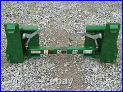 John Deere 300 400 500 Series Loader To Skid Steer Quick Attach Adapter 832620