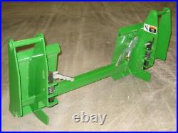 John Deere 600 700 Series Loader To Skid Steer Quick Attach Adapter 832650