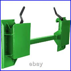 John Deere to Skid Steer Quick Tach Adapter 200, 300, 400, 500 Series Loaders