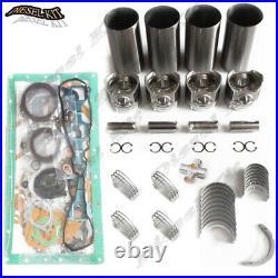 Kubota V3300 Direct Injection Engine Rebuild Kit STD For BOBCAT S220 S250 S300