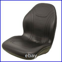LGT125BL NEW UNIVERSAL FIT SEAT Fits Bobcat SKID STEER LOADERS, EXCAVATOR