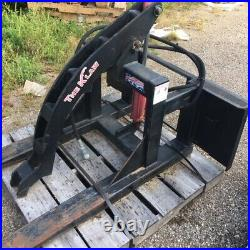 Log Steel Grapple KLAW Lumber Lift Equipment Tractor Skid Loader Attachment