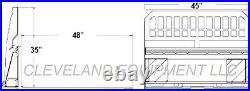 NEW 48 PALLET FORKS & FRAME ATTACHMENT Skid Steer Loader Tractor 4000# Capacity