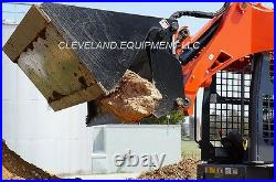 NEW 60 HD 4-IN-1 COMBINATION BUCKET ATTACHMENT Skid Steer Loader Tractor Bobcat