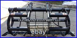 NEW 60 LD ROOT GRAPPLE ATTACHMENT Skid-Steer Loader Bucket Rake Tine Bobcat 5