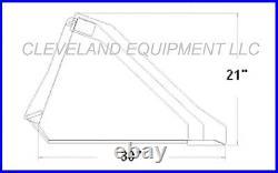 NEW 60 SD LOW PROFILE BUCKET Skid-Steer Loader Attachment John Deere Mustang 5