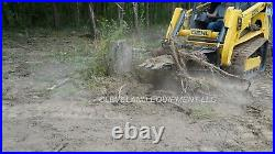 NEW 62 XL STUMP BUCKET ATTACHMENT for / fits Bobcat Skid Steer Track Loader