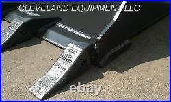 NEW 66/68 LOW PROFILE TOOTH BUCKET Skid Steer Loader Attachment Teeth Bobcat nr