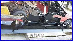 NEW 66 MANUAL SNOW PLOW BLADE SKID STEER LOADER COMPACT TRACTOR bobcat cat 5'6