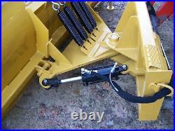NEW 6', 72 SNOWPLOW SKID STEER LOADER, bobcat, case holland & Tractors-mahindra
