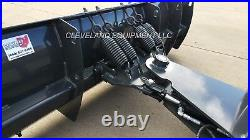 NEW 72 COMPACT TRACTOR / SKID STEER SNOW PLOW BLADE ATTACHMENT Bobcat Loader 6