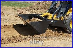 NEW 72 HD 4-IN-1 COMBINATION BUCKET ATTACHMENT Skid Steer Loader Tractor Bobcat