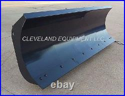 NEW 72 HD SNOW PLOW ATTACHMENT Skid-Steer Loader Angle Blade John Deere Case 6