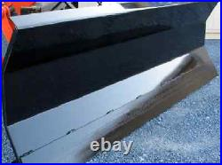 NEW 72 HYDRAULIC SNOW PLOW SKID STEER LOADER, COMPACT TRACTOR 6' kubota bobcat