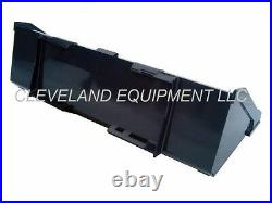 NEW 72 SD LOW PROFILE BUCKET Skid-Steer Loader Attachment Kubota Bobcat Gehl 6