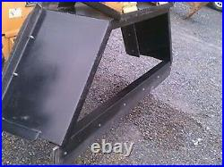 NEW 7' 84 SKID STEER LOADER MANURE SCRAPER, SNOW PUSHER- Amish Made-tractor plow
