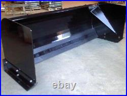 NEW 7' x 36 HIGH SKID STEER/TRACTOR LOADER SNOW BOX PUSHER PLOW BLADE bobca, 84