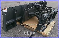 NEW 96 6-WAY DOZER BLADE ATTACHMENT Skid-Steer Track Loader Mustang JCB ASV CAT
