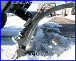 NEW 96 VIRNIG V40 SNOW PLOW BLADE ATTACHMENT Bobcat Kubota Skid Steer Loader 8
